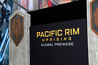 "LOS ANGELES - FEB 21:  General View at the ""Pacific Rim Uprising"" Premiere at the TCL Chinese Theater IMAX on February 21, 2018 in Los Angeles, CA"