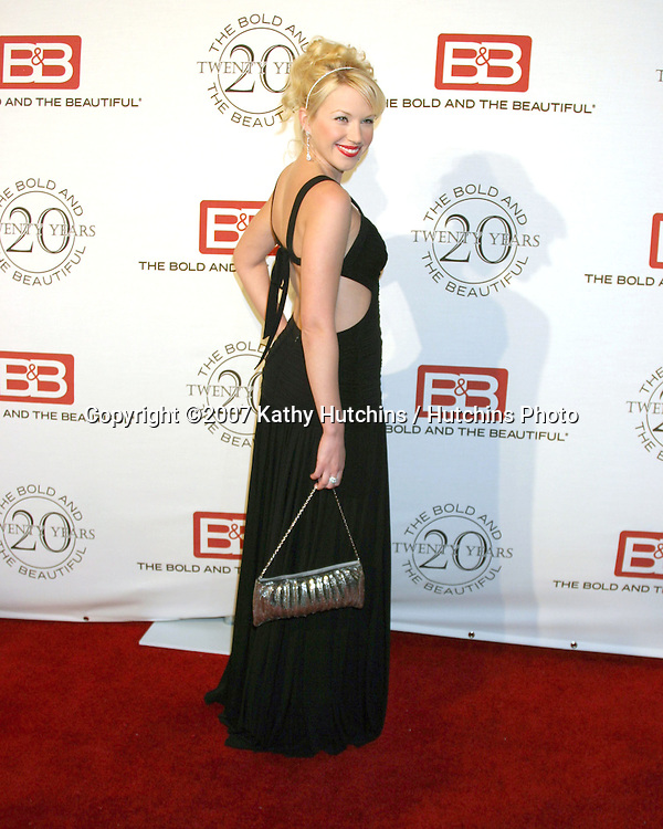Adrienne Frantz.The Bold & The Beautiful 20th Anniversary Party.Two Rodeo Drive.Beverly Hills, CA.March 25, 2007.©2007 Kathy Hutchins / Hutchins Photo.