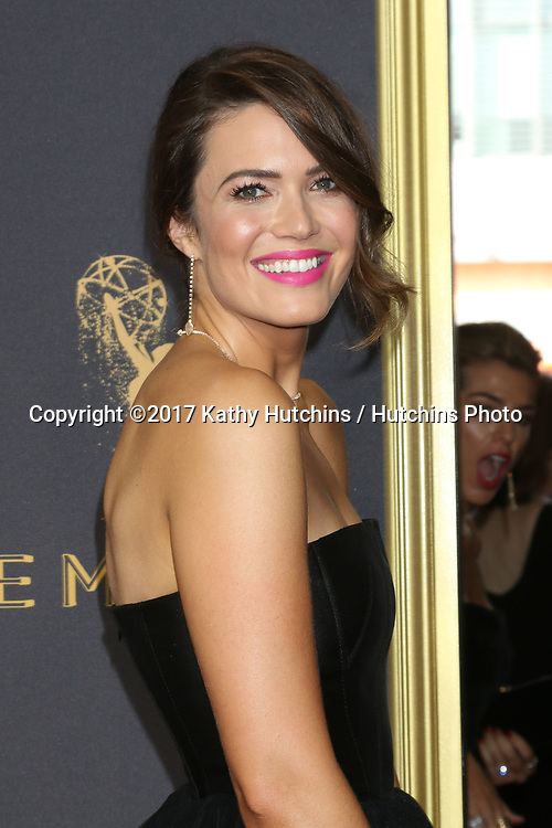 LOS ANGELES - SEP 17:  Mandy Moore at the 69th Primetime Emmy Awards - Arrivals at the Microsoft Theater on September 17, 2017 in Los Angeles, CA
