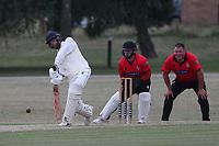 Prashant Chand-Bajpai of Buckhurst Hill during Hornchurch CC vs Buckhurst Hill CC (batting), Essex Cricket League Cricket at Harrow Lodge Park on 25th July 2020
