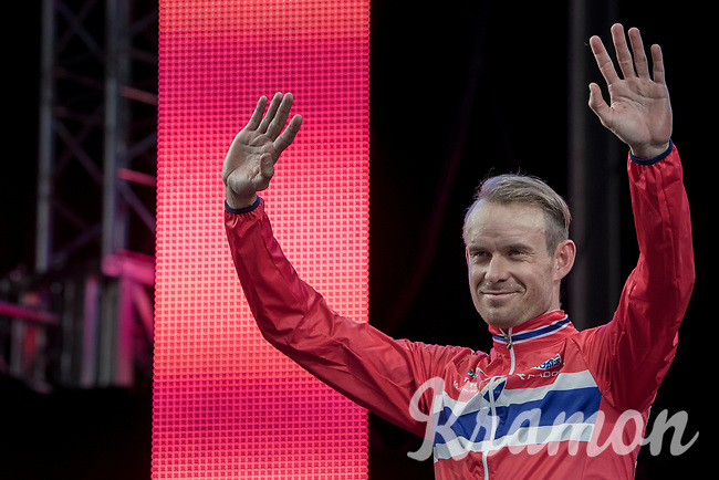 'Local' rider Alexander Kristoff  (NOR/Katusha-Alpecin) takes 2nd place in Norway<br /> <br /> Men Elite Road Race<br /> <br /> UCI 2017 Road World Championships - Bergen/Norway