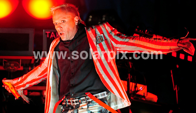 **ALL ROUND PICTURES FROM SOLARPIX.COM**.**SYNDICATION RIGHTS FOR UK AND SPAIN ONLY**.The Prodigy performing at the music festival 'Rock am Ring' at the Nuerburgring racetrack, Nurnberg, Germany. 6th-8th June 2008...JOB REF: 6587 CPR/Clemens Bilan .DATE: 08_06_2008.**MUST CREDIT SOLARPIX.COM OR DOUBLE FEE WILL BE CHARGED* *UNDER NO CIRCUMSTANCES IS THIS IMAGE TO BE REPRODUCED FOR ANY ONLINE EDITION WITHOUT PRIOR PERMISSION*