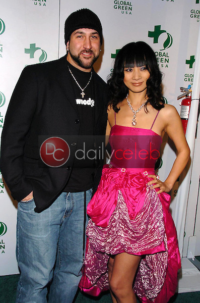 Joey Fatone and Bai Ling<br />at the Global Green Oscar Party. The Henry Fonda Music Box Theatre, Hollywood, CA. 03-03-06<br />Dave Edwards/DailyCeleb.com 818-249-4998