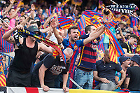 FC Barcelona's supporter during Copa del Rey (King's Cup) Final between Deportivo Alaves and FC Barcelona at Vicente Calderon Stadium in Madrid, May 27, 2017. Spain.<br /> (ALTERPHOTOS/BorjaB.Hojas) /NortePhoto.com