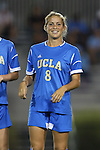06 September 2013: UCLA's Abby Dahlkemper. The University of North Carolina Tar Heels played the University of California Los Angeles Bruins at Koskinen Stadium in Durham, NC in a 2013 NCAA Division I Women's Soccer match. UNC won the game 1-0.