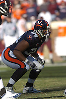 19 November 2005:Ahmad Brooks (34)..The Virginia Tech Hokies defeated the Virginia Cavaliers 52-14 for the Commonwealth Cup at Scott Stadium in Charlottesville, VA.