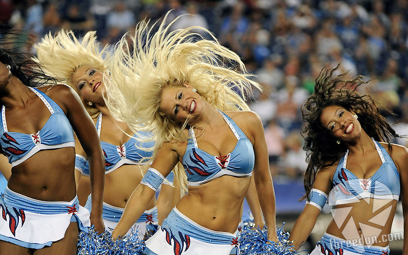 in the first half of an NFL football game at LP Field in Nashville, Tenn., Saturday, Aug. 13, 2011. (AP Photo/Frederick Breedon)