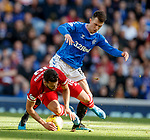 28.09.2018 Rangers v Aberdeen: Ryan Jack and Connor McLennan
