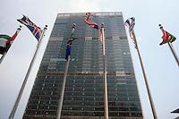 New York, United Nations  building....New York, palazzo delle Nazioni Unite