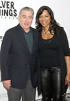 NEW YORK, NY - NOVEMBER 12: Robert De Niro and Grace Hightower at the 'Silver Linings Playbook' Tribeca Teaches Benefit Premiere at the Ziegfeld Theatre on November 12, 2012 in New York City. Credit: RW/MediaPunch Inc. /NortePhoto/nortephoto@gmail.com
