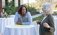 Susan Gratch, Associate Dean of the College for Curriculum and Academic Support, Professor, Theater. Ella Turenne, Assistant Dean for Community Engagement.<br />