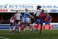 Angelo Balanta of Dagenham and Redbridge scores the first goal for his team during Dagenham & Redbridge vs Bromley, Vanarama National League Football at the Chigwell Construction Stadium on 9th March 2019