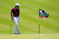 Jo&euml;l Stalter (FRA) in action during the third round of the Afrasia Bank Mauritius Open played at Heritage Golf Club, Domaine Bel Ombre, Mauritius. 02/12/2017.<br /> Picture: Golffile | Phil Inglis<br /> <br /> <br /> All photo usage must carry mandatory copyright credit (&copy; Golffile | Phil Inglis)