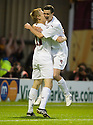 05/08/2010   Copyright  Pic : James Stewart.sct_jsp013_Motherwell_v_Aalesund  .::  JONATHAN PAGE CELEBRATES WITH JAMIE MURPHY AFTER HE SCORES THE THIRD::  .James Stewart Photography 19 Carronlea Drive, Falkirk. FK2 8DN      Vat Reg No. 607 6932 25.Telephone      : +44 (0)1324 570291 .Mobile              : +44 (0)7721 416997.E-mail  :  jim@jspa.co.uk.If you require further information then contact Jim Stewart on any of the numbers above.........