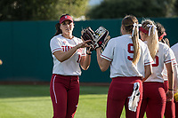 Kiana PancinoSTANFORD, CA -- March 27, 2019. The Stanford Cardinal women's softball team defeats the St. Mary's Gaels 8-0 in the second game of a doubleheader at the Smith Family Stadium.