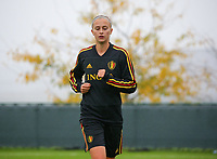 20191006 TUBIZE: Red Flames' Julie Biesmans is pictured at the Open Training of Red Flames on Sunday 6th of October 2019, Tubize, Belgium PHOTO SPORTPIX.BE | SEVIL OKTEM