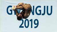 ABBAS Abdulrahman KUW KUWAIT<br /> Gwangju South Korea 17/07/2019<br /> Diving Men's 3m Springboard Preliminary <br /> 18th FINA World Aquatics Championships<br /> Nambu University Aquatics Center <br /> Photo © Andrea Staccioli / Deepbluemedia / Insidefoto