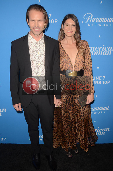 """Tobias Jelinek, Irena Costa<br /> at the """"American Woman"""" Premiere Party, Chateau Marmont, Los Angeles, CA 05-31-18<br /> David Edwards/DailyCeleb.com 818-249-4998"""