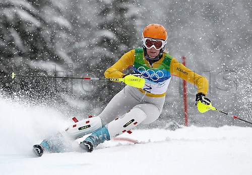 26 02 2010 Copyright Actionplus/GEPA Pictures . 2010 Vancouver Winter Olympic Games. Whistler Canada 26 Feb 10  Ski Alpine Slalom for women Picture shows Susanne Riesch ger .  Photo : Imago/Actionplus. Editorial Use UK.