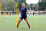CARY, NC - JULY 27: Meredith Speck. The North Carolina Courage held a training session on July 27, 2017, at WakeMed Soccer Park Field 7 in Cary, NC.