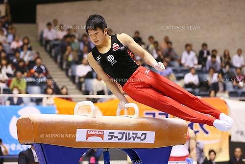 Shogo Nonomura, MAY 9, 2014 - Artistic Gymnastics : The 68th All Japan Gymnastics Championship Men's Individual All-Around preliminary at 1st Yoyogi Gymnasium, Tokyo, Japan. (Photo by Yohei Osada/AFLO SPORT) [1156]