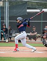 Marcos Gonzalez - Cleveland Indians 2020 spring training (Bill Mitchell)