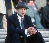Bruce Willis<br /> 1990<br /> Photo By John Barrett/CelebrityArchaeology.com