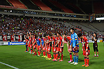 FC Seoul (KOR) vs Pohang Steelers (KOR) during the 2014 AFC Champions League Quarter-finals 2nd Leg match on 27 August 2014 at Seoul World Cup Stadium, Seoul, South Korea.  Photo by Stringer / Lagardere Sports