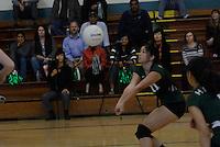 The Harker School - US - Upper School - US Girls JV Volleyball versus Mercy-Burlingame - photo by Robert Boucher, parent