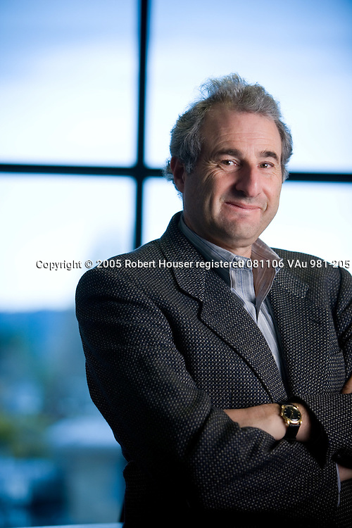 Kenneth Rosen - Professor - UC Berkeley, Rosen Consulting Group: Executive portrait photographs by San Francisco - corporate and annual report - photographer Robert Houser.