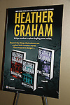 Poster of Heather Graham author at Romantic Times Booklovers Annual Convention 2011 - The Book Industry Event of the Year - April 6th to April 10th at the Westin Bonaventure, Los Angeles, California for readers, authors, booksellers, publishers, editors, agents and tomorrow's novelists - the aspiring writers. (Photo by Sue Coflin/Max Photos)