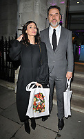 Natalie Imbruglia and David Walliams at the George Michael Collection VIP private view &amp; reception, Christie's London, King Street Saleroom, King Street, London, England, UK, on Tuesday 12th March 2019.<br /> CAP/CAN<br /> &copy;CAN/Capital Pictures