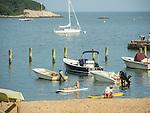 Madison Beach and Tuxis Island, Madison, CT. Long Island Sound.