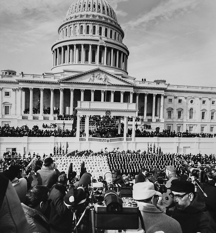 Crowd gathered on the Capitol Hill. (Photo by CQ Roll Call via Getty Images)