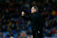 Swansea City manager Paul Clement points during the Premier League match between Burnley and Swansea City at Turf Moor, Burnley, England, UK. Saturday 18 November 2017