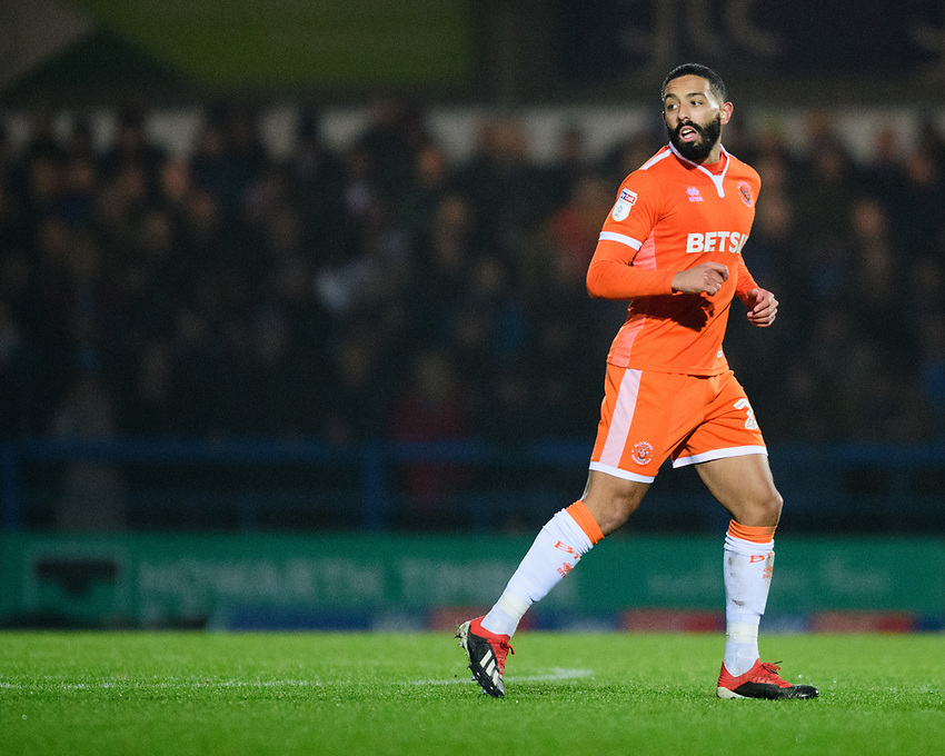 Blackpool's Liam Feeney<br /> <br /> Photographer Chris Vaughan/CameraSport<br /> <br /> The EFL Sky Bet League One - Rochdale v Blackpool - Wednesday 26th December 2018 - Spotland Stadium - Rochdale<br /> <br /> World Copyright © 2018 CameraSport. All rights reserved. 43 Linden Ave. Countesthorpe. Leicester. England. LE8 5PG - Tel: +44 (0) 116 277 4147 - admin@camerasport.com - www.camerasport.com