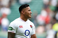 Manu Tuilagi of England looks on after the match. Quilter International match between England and Wales on August 11, 2019 at Twickenham Stadium in London, England. Photo by: Patrick Khachfe / Onside Images
