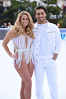 "Kem Cetinay and Alex Murphy <br /> at the ""Dancing on Ice"" launch photocall, natural History Museum, London<br /> <br /> <br /> ©Ash Knotek  D3365  19/12/2017"
