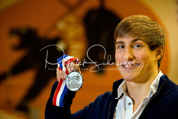National Finalist  Wrestler Jack Twomey-Kozak , from Orange High School in Hillsborough, NC...Photo by: PatrickSchneiderPhoto.com