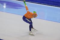 SCHAATSEN: HEERENVEEN: IJsstadion Thialf, 17-11-2012, Essent ISU World Cup, Season 2012-2013, Men 1000 meter Division A, Kjeld Nuis (NED), ©foto Martin de Jong