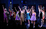 "Angie Schworer, Michael Potts, Beth Leavel, Isabelle McCalla and Caitlin Kinnunen during the Broadway Opening Night Curtain Call of ""The Prom"" at The Longacre Theatre on November 15, 2018 in New York City."