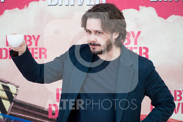 Director of the film, Edgar Wright attends to the presentation of the film 'Baby Driver' at Villa Magna Hotel in Madrid, June 23, 2017. Spain.<br /> (ALTERPHOTOS/BorjaB.Hojas)