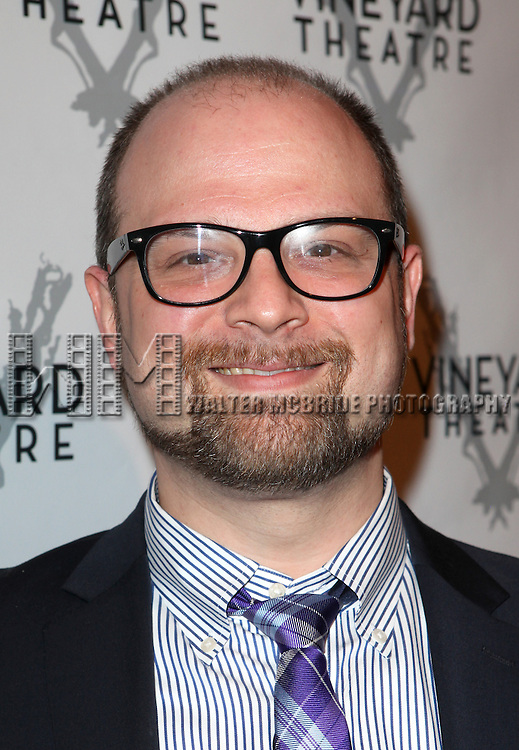 Carl Andress attending the Vineyard Theatre's 30th Anniversary Gala Celebration Cocktail Reception at the Edison Ballroom in New York City on 3/18/2013