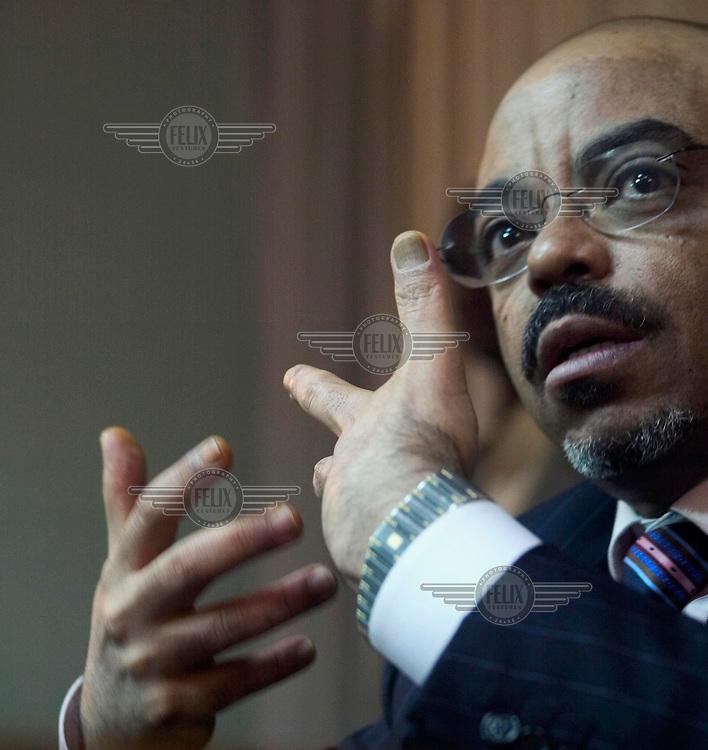 Prime Minister Meles Zenawi.