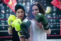 2019 04 01 Miriam Gutierrez, European lightweight champion