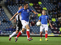 Lee McCulloch in the Rangers v Queen of the South Quarter Final match in the Ramsdens Cup played at Ibrox Stadium, Glasgow on 18.9.12.