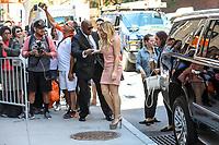 NEW YORK, EUA, 27.06.2017 - HILARY-DUFF - A atriz norte-americana Hilary Duff é vista no Soho na Ilha de Manhattan em New York nesta terça-feira, 27. (Foto: Vanessa Carvalho/Brazil Photo Press)