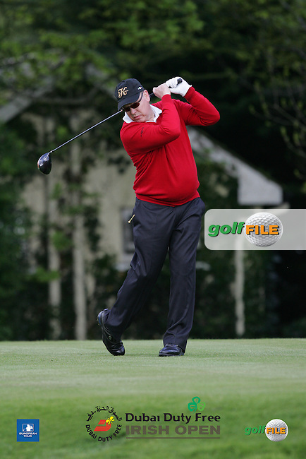 HSH Prince Albert during Wednesday's Pro-Am ahead of the 2016 Dubai Duty Free Irish Open Hosted by The Rory Foundation which is played at the K Club Golf Resort, Straffan, Co. Kildare, Ireland. 18/05/2016. Picture Golffile | TJ Caffrey.<br /> <br /> All photo usage must display a mandatory copyright credit as: &copy; Golffile | TJ Caffrey.