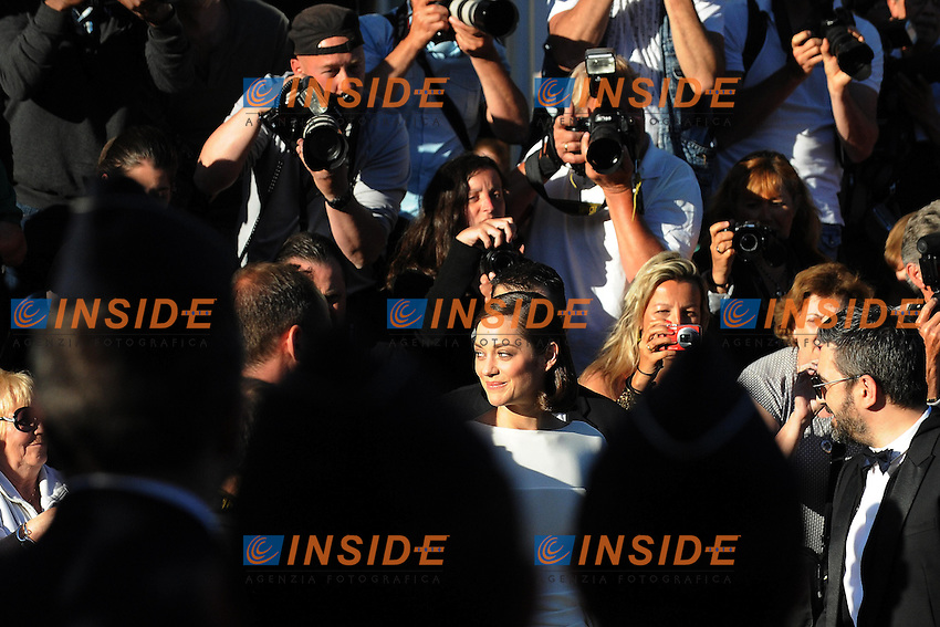 Marion Cotillard .Cannes 24/5/2013 .Festival del Cinema di Cannes .Foto Panoramic / Insidefoto .ITALY ONLY