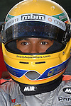 Lewis Hamilton, Karting, Team MBM